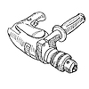 Vector clipart: drill with handle