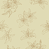 Vector clipart: Beautiful seamless pattern