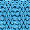 Vektor Cliparts: Muster von Atomkernen