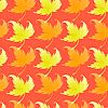Векторный клипарт: Обои с скручивание листьев растений