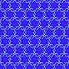 синий атомный фон