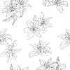Vector clipart: Beautiful seamless pattern