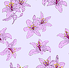 Beautiful seamless flower pattern