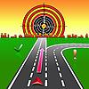 Векторный клипарт: Карта GPS-навигатор на улицах