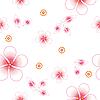 Векторный клипарт: Бесшовные цветочные фоне