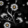 Vektor Cliparts: Nahtloses Blumenmuster