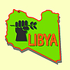 Vector clipart: Stop military operations in Libya.