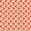 Vector clipart: Seamless pattern with apples