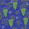 Vector clipart: Seamless pattern with grapes