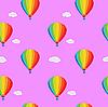 Vector clipart: Pattern balloon