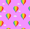 Vektor Cliparts: Pattern einem Ballon
