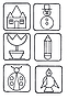 Vector clipart: set of icons