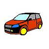 Vector clipart: car