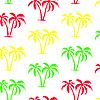 Vektor Cliparts: Nahtlose Palme Muster