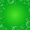 Vector clipart: Frame of beautiful bubbles