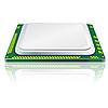 Vector clipart: Modern computer processor