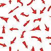 Vektor Cliparts: von roten Pfeilen, nahtlose Hintergrundbild zu speichern.