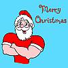 Векторный клипарт: Дед Мороз