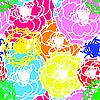 Vektor Cliparts: Blume nahtlose Hintergrund
