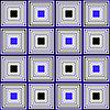 Vektor Cliparts: Seamless Hintergrund von abstrakten glatten Formen