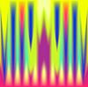 Vector clipart: abstract polar lights