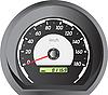 Векторный клипарт: спидометров автомобилей для гонок дизайна.