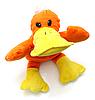 오리 아이들의 밝고 아름다운 부드러운 장난감 | Stock Foto
