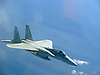 Jet airplane at high speed | Stock Foto
