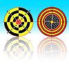 ID 3102773 | Targets for practical pistol shooting | Klipart wektorowy | KLIPARTO