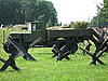 Старый военной техники на стоянках в России музей Москвы | Фото