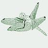 Vector clipart: dragonfly