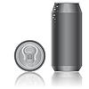 Векторный клипарт: Алюминиевая упаковка для напитков