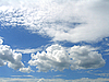 Clouds in the blue sky | Stock Foto