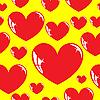 Векторный клипарт: Бесшовный фон, сердце.