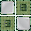 Векторный клипарт: Современный процессор компьютера,.