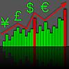 Векторный клипарт: График роста финансовых доходов
