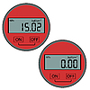Vector clipart: The modern digital gas manometer