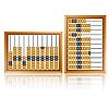 Vektor Cliparts: alten hölzernen abacus