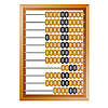 Vector clipart: old wooden abacus