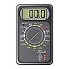 Vector clipart: Digital multimeter.
