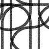 Vector clipart: Seamless wallpaper winter tire tracks pattern