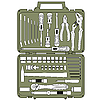 Vector clipart: set of different tools in box