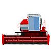 Vector clipart: combine harvester