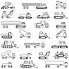 Векторный клипарт: Автомобили, транспортные средства. Кузова.