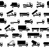Vector clipart: Cars, vehicles. Car body. Seamless wallpaper