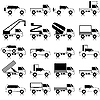 Vector clipart: Cars, vehicles. Car body.