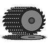 Vector clipart: Circular saw blade .