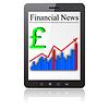 Финансовые новости на планшетных ПК