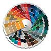 Vector clipart: Color palette guide