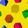 Векторный клипарт: геометрический рисунок формы